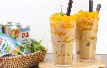 Trà sữa thạch cam Mandarin