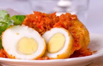 Trứng chiên ớt