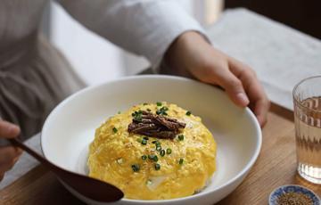 Trứng tráng kiểu Hàn