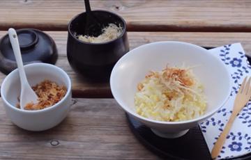 Xôi đậu xanh nấu bằng nồi cơm điện
