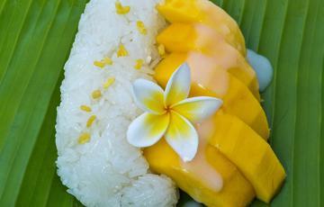 Xôi xoài Thái Lan chua ngọt