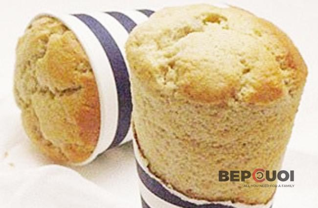Bánh chuối nướng cốc giấy
