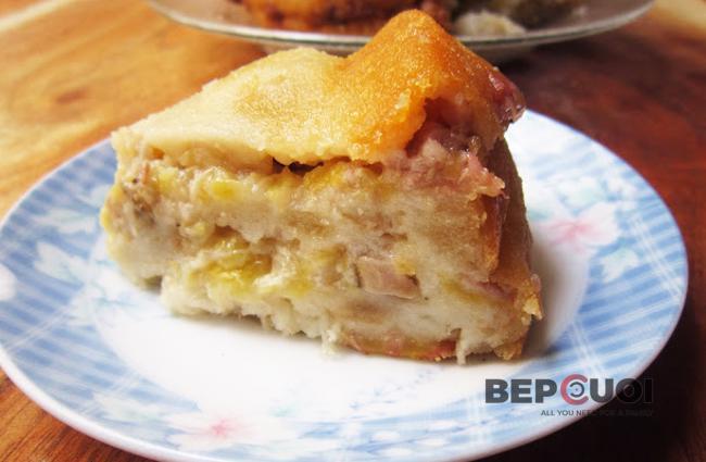 Bánh chuối nướng Nam Bộ