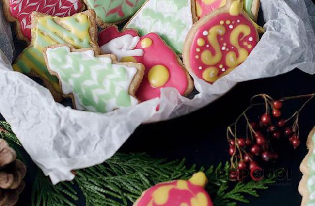 Bánh cookie Giáng Sinh