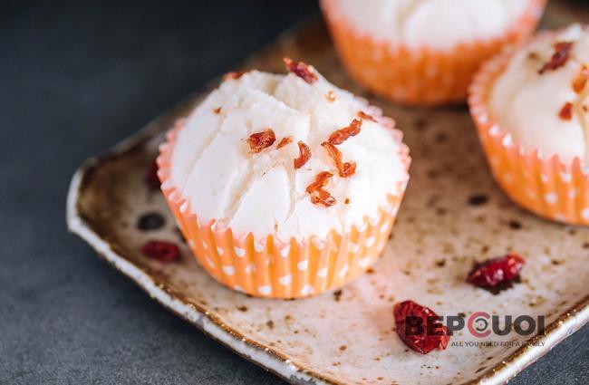 Bánh cupcake xốp mềm