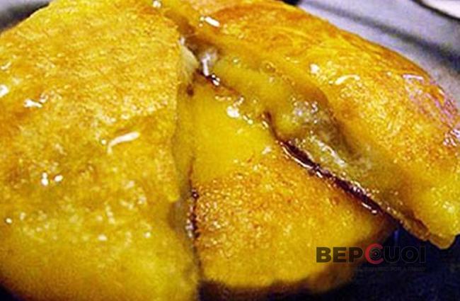 Bánh khoai lang bọc chuối