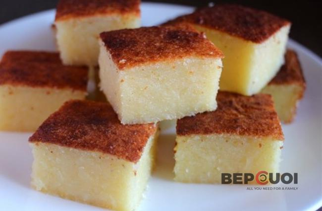 Bánh khoai mì nướng béo ngậy