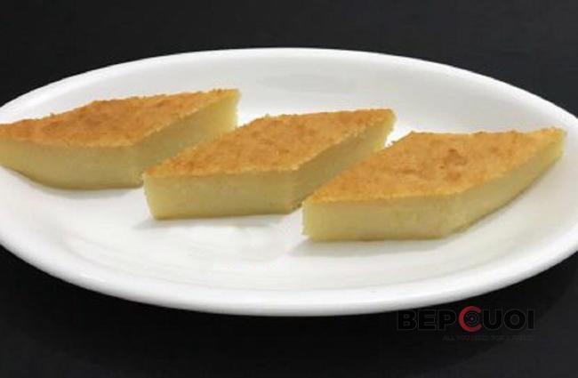 Bánh khoai mì nướng béo thơm
