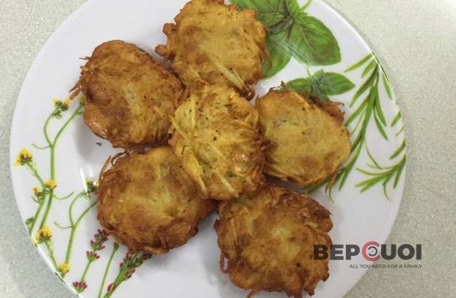 Bánh khoai tây chay