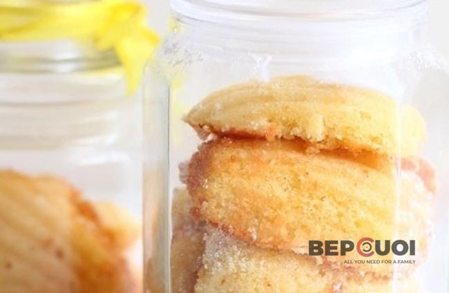 Bánh madeleine hình sò