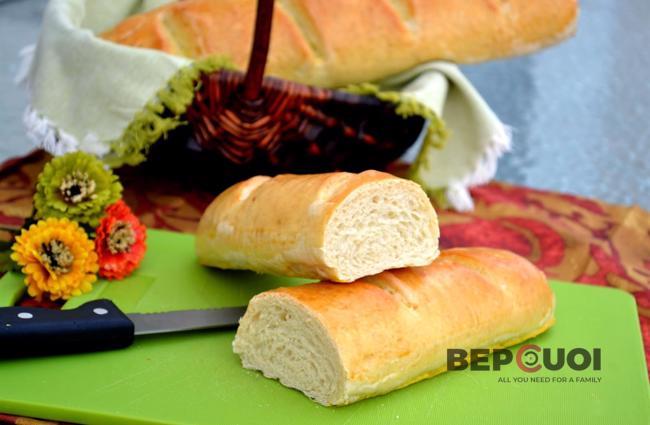 Bánh mì baguette Pháp