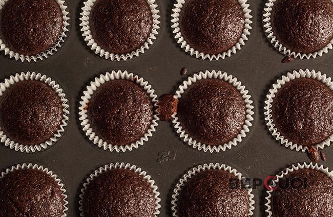Bánh muffin chocolate đơn giản