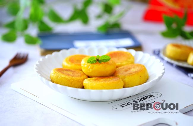 Bánh nếp khoai lang nhân mè đường nâu