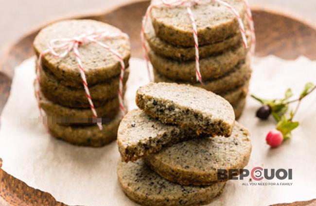 Bánh quy bơ mè đen
