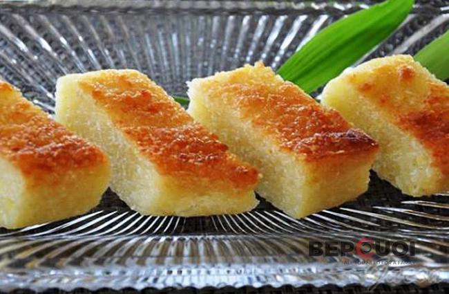 Bánh sắn nướng