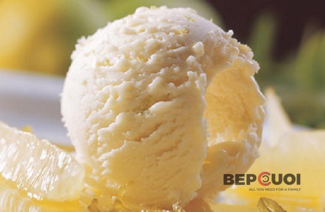 Cách làm kem chanh đơn giản