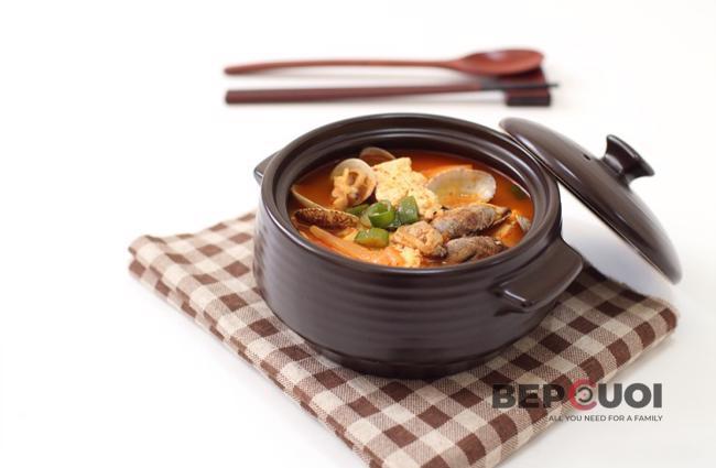 Canh ngao nấu đậu hũ
