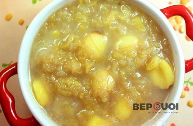 Chè đậu hạt sen