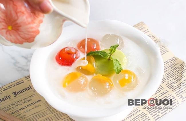 Chè thạch trái cây pha lê