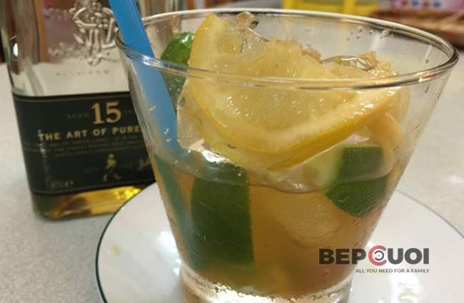 Cocktail chanh đường