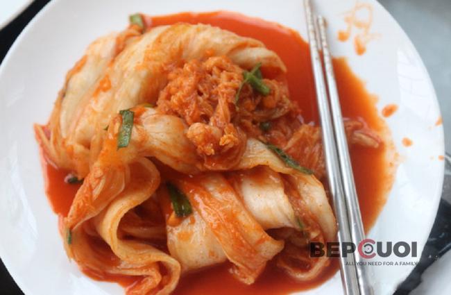 Kim chi cải thảo chua giòn