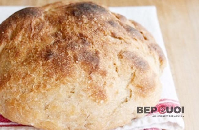 Cáchlàm bánh mì bằng nồi lẩu điện