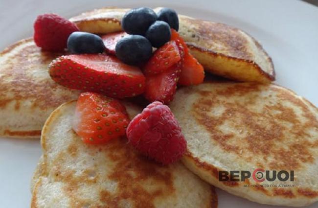 Pancake sữa chua
