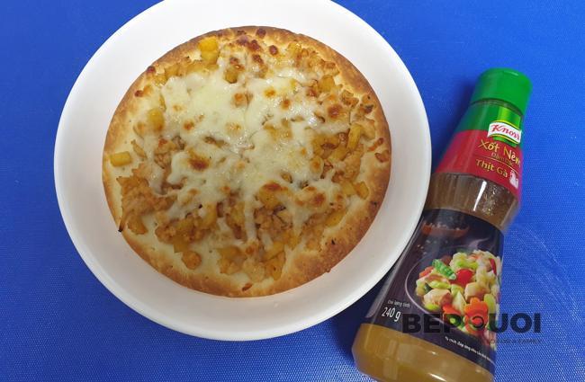 Pizza gà thơm
