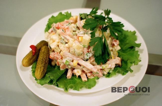 Salad Nga vị thơm