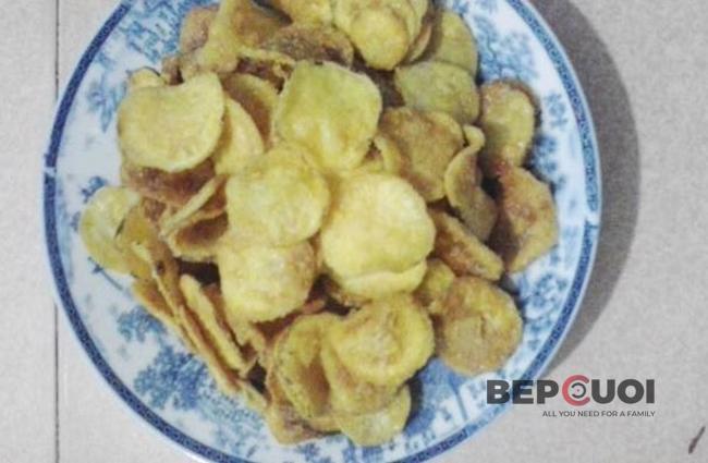 Snack khoai lang vàng