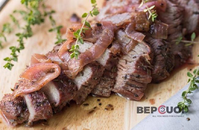 Steak bò mềm thơm