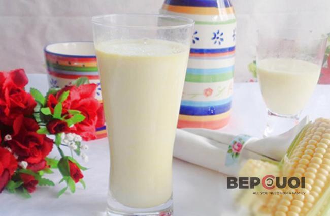Sữa bắp và lê