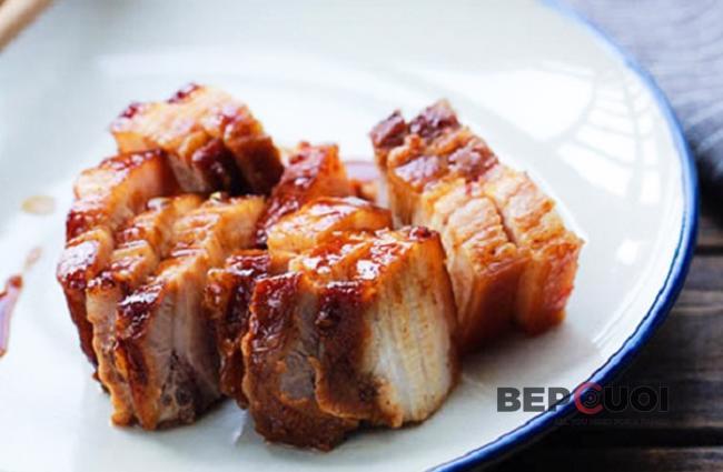 Thịt ba chỉ nướng mật ong
