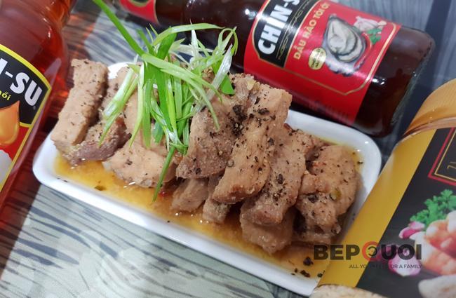 Thịt kho nước mắm CHIN-SU
