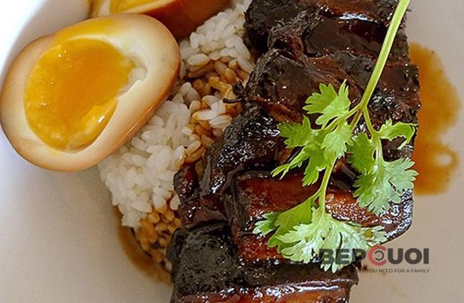 Thịt kho tàu kiểu Nhật
