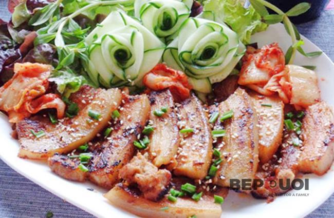 Thịt nướng kiểu Hàn