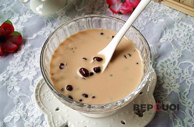 Trà sữa đậu đen