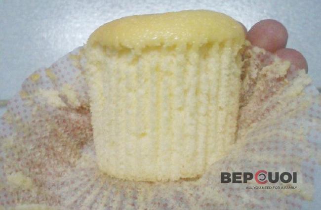Yogurt chiffon cupcake