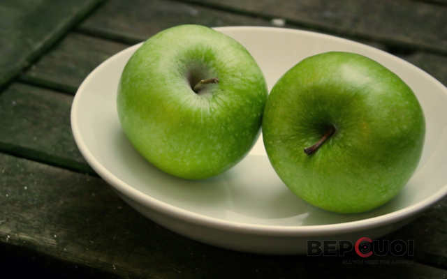 8 lợi ích của táo xanh