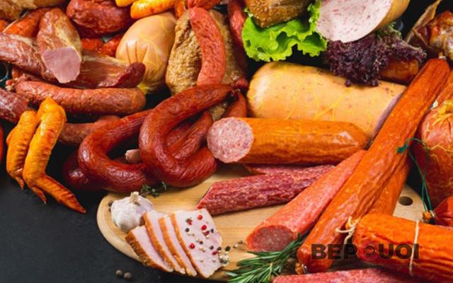 Các loại xúc xích nổi tiếng ở Đức