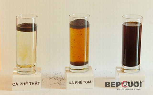 Mẹo nhận biết cà phê bẩn pha tạp chất và hóa chất độc hại